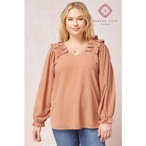 Jocelyn - XL - Plus Tops
