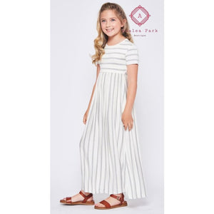 Jorja's Striped Maxi - XS - Girls Dresses