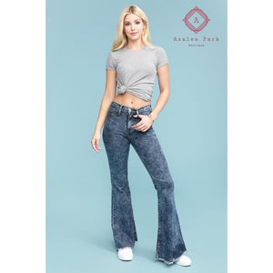 Judy Blue Acid Wash Super Flare - 1/25 - Bottoms