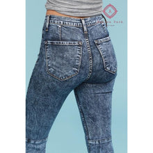 Load image into Gallery viewer, Judy Blue Acid Wash Super Flare - Bottoms