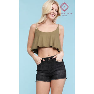 Judy Blue Black Cut Off Shorts - Plus Bottoms