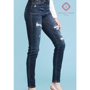 Judy Blue Distressed Skinny - New Arrival