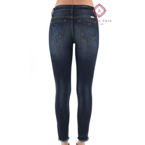 KanCan Low Rise Ankle Skinny - Bottoms