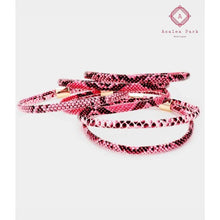 Load image into Gallery viewer, Layered Snake Bangle - Jewelry