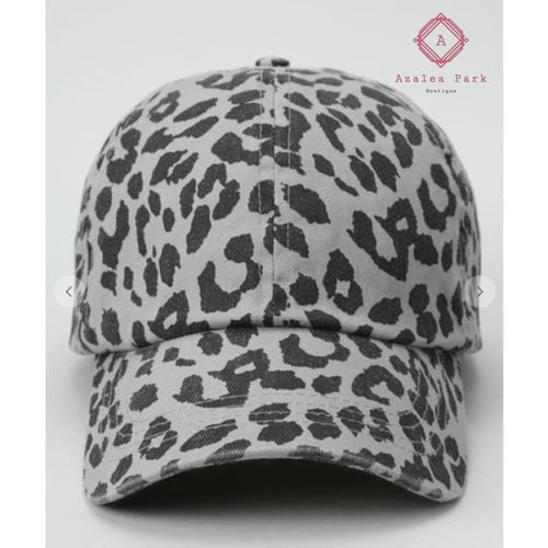 Leopard Baseball Hat - Hats & Hair Accessories
