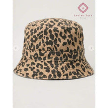 Load image into Gallery viewer, Leopard Bucket Hat - Hats & Hair Accessories