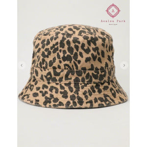 Leopard Bucket Hat - Hats & Hair Accessories