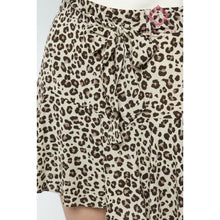 Load image into Gallery viewer, Leopard Print Skort - Bottoms
