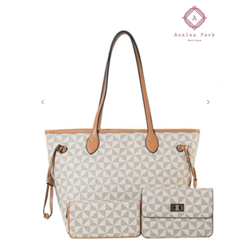 Lisa 3 in 1 - Grey - Bags & Purses