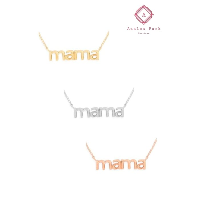 Mama Necklace - Accessories