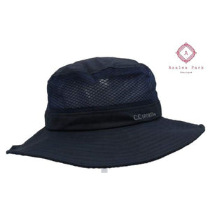 PRE ORDER Mesh Bucket CC Hat with Pony Opening - Hats & Hair Accessories