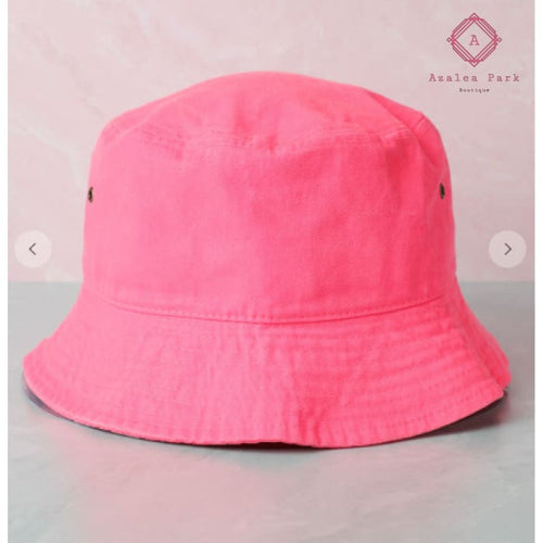 Neon Bucket Hat - Hats & Hair Accessories
