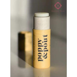 Poppy & Pout Lip Balm - Luxurious Pampering