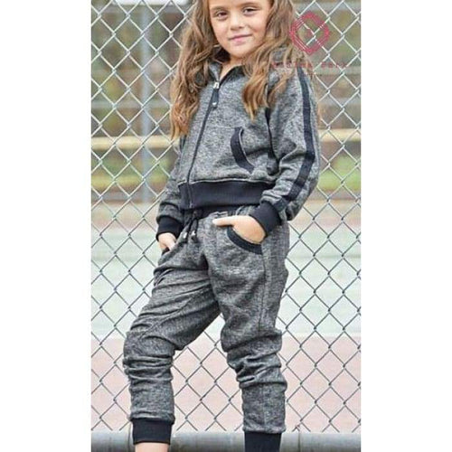 Raglan Jogger Set - Girls Sets