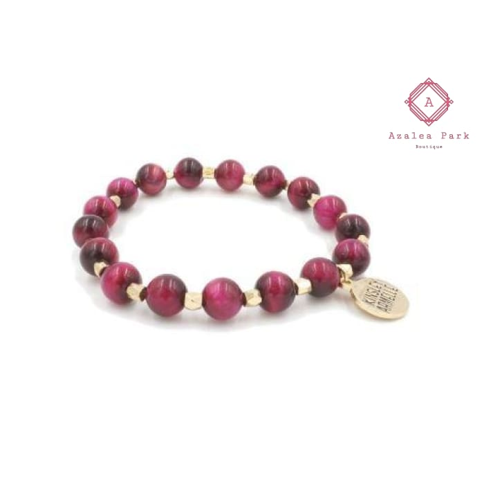 Raspberry Wine Bracelet - Kinsley Armelle