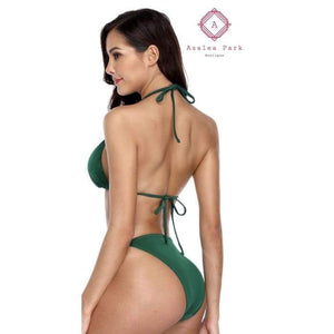 Ribbed Triangle Bikini - Womens Swimsuit