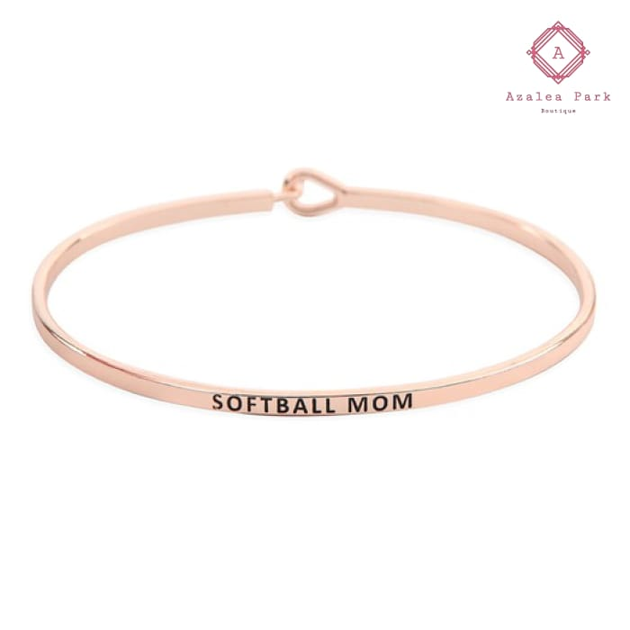 Softball Mom Bangle - Jewelry