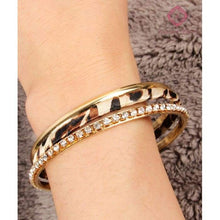Load image into Gallery viewer, Stackable Leopard Bangles - Jewelry