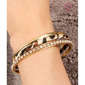 Stackable Leopard Bangles - Jewelry