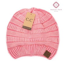 Load image into Gallery viewer, Stonewashed Classic C.C Beanie - Rose - Hats & Hair Accessories