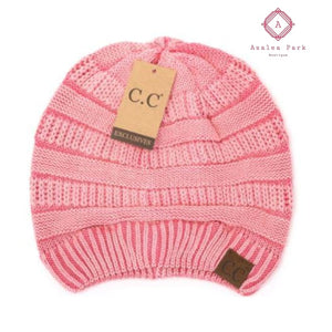 Stonewashed Classic C.C Beanie - Rose - Hats & Hair Accessories