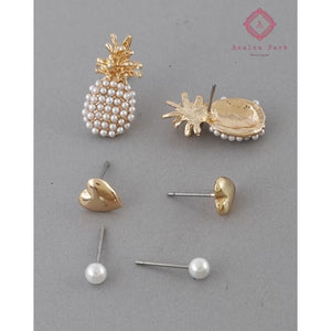 Sweet Summer Earrings Set - Girls Accessories