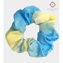 Load image into Gallery viewer, Tie Dye Scrunchie - Blue - Hats & Hair Accessories