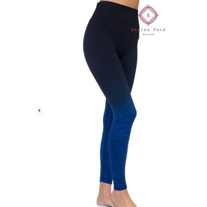 Two Toned Active Leggings - Bottoms