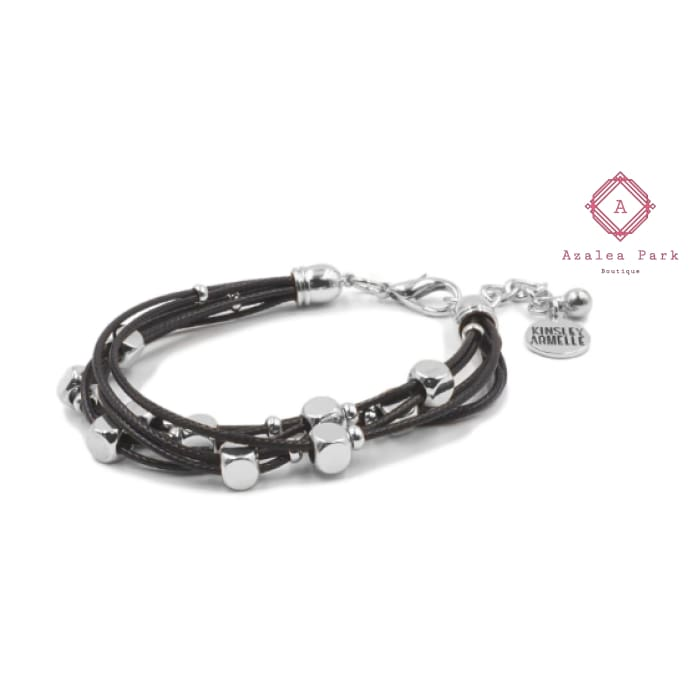 Wrap Collection - Silver Raven Bracelet - Kinsley Armelle