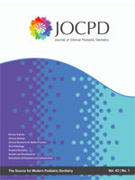 JOURNAL OF CLINICAL PEDIATRIC DENTISTRY
