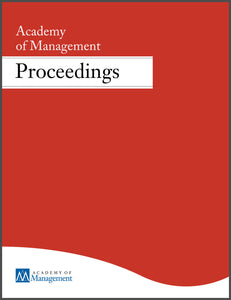 ACADEMY OF MANAGEMENT PROCEEDINGS