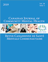 CANADIAN JOURNAL OF COMMUNITY MENTAL HEALTH