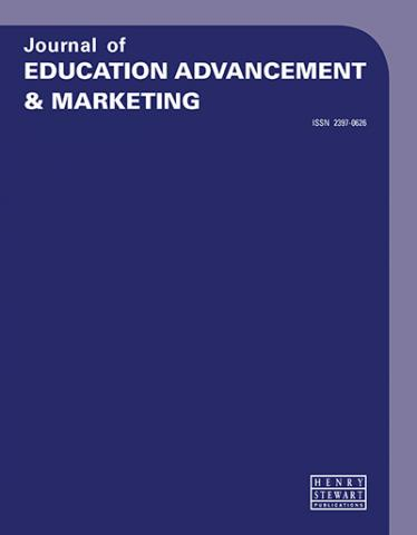 JOURNAL OF EDUCATION ADVANCEMENT & MARKETING