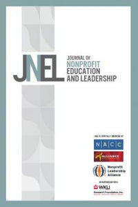 JOURNAL OF NONPROFIT EDUCATION AND LEADERSHIP