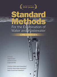 STANDARD METHODS FOR THE EXAMINATION OF WATER & WASTEWATER (Small Lab Online Subscription)