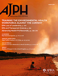 AMERICAN JOURNAL OF PUBLIC HEALTH - ONLINE TIER 3
