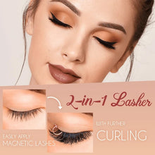 Load image into Gallery viewer, Magnetic Lashes Clip & Eyelashes Set