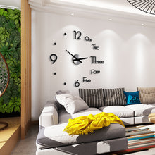 Load image into Gallery viewer, 3D DIY Creative Wall Clock