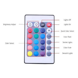 LED Atmosphere Lights With Remote Control