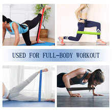 Load image into Gallery viewer, Fitness Yoga Resistance Bands Health Elastic Sport Body Latex Belt Pull Strap Force Arm Thigh Strength Training Strap(5 packs)