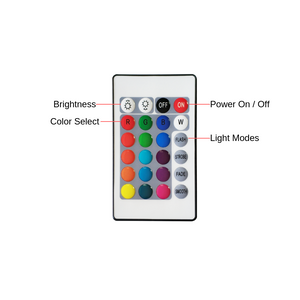Led strip light controller