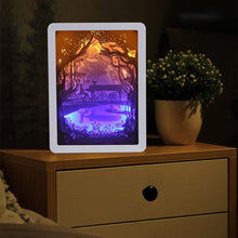Load image into Gallery viewer, 3D Paper Carving Lamp