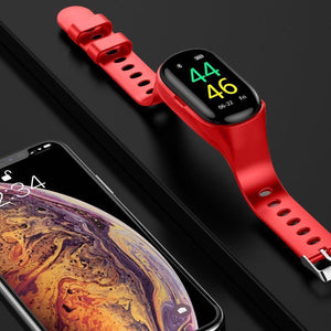 Trackbuds Smart Watch with Bluetooth Earbuds