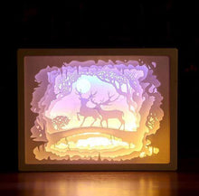 Load image into Gallery viewer, 3D Decorative Paper Carving Lamp