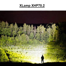Load image into Gallery viewer, 90000 LUMENS XHP70.2 MOST POWERFUL FLASHLIGHT( BUY 2 GET 1 FREE!)