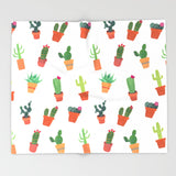 Cactus Lover Ultra-Soft Throw Blanket
