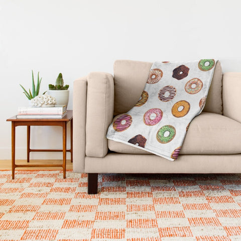 Donut Lover Ultra-Soft Throw Blanket