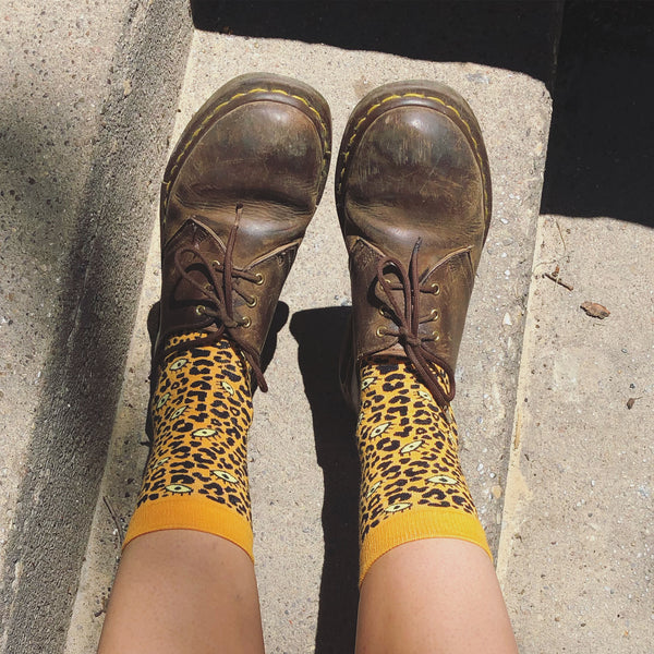 Leopard Eye Socks