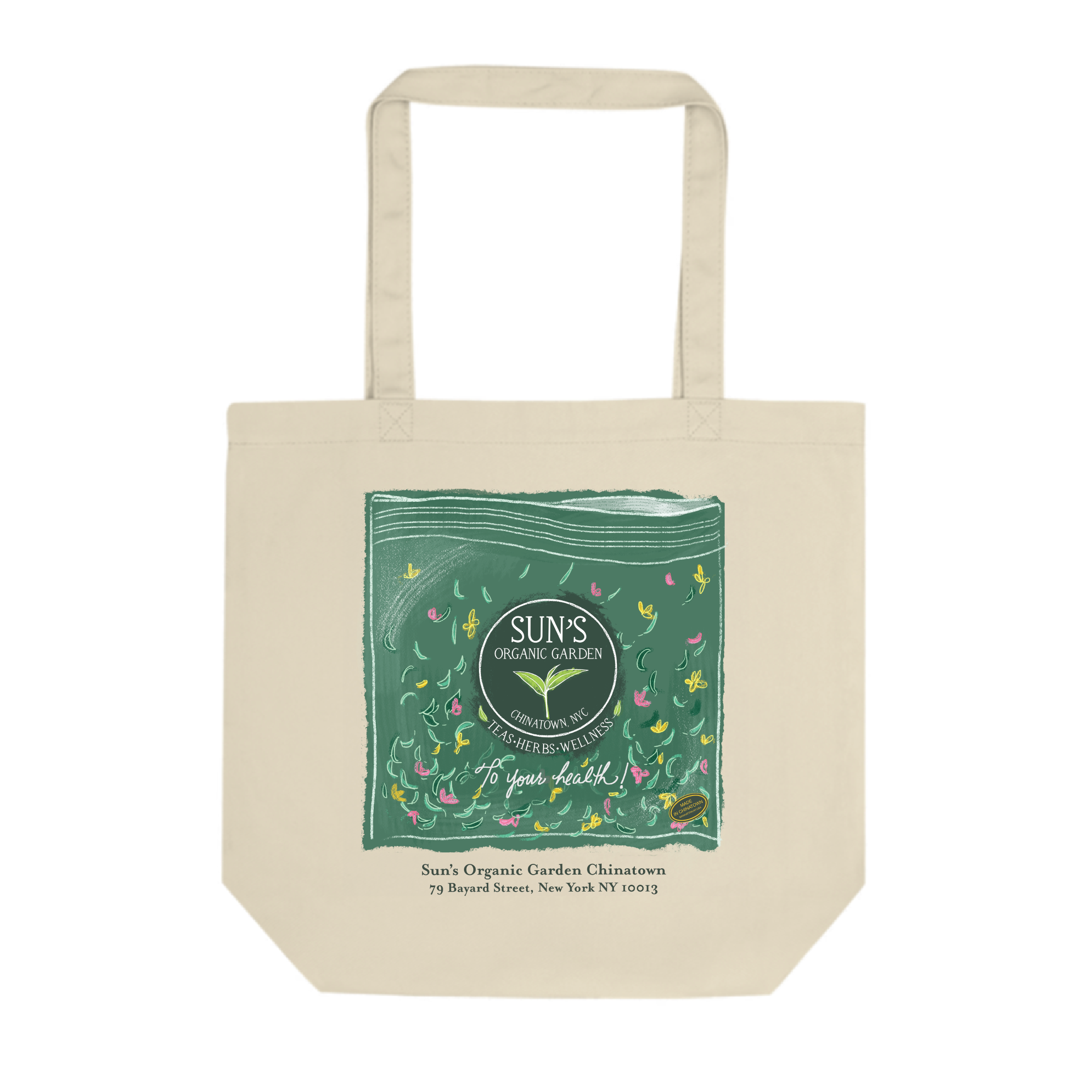Sun's Organic Garden x Made in Chinatown Tote