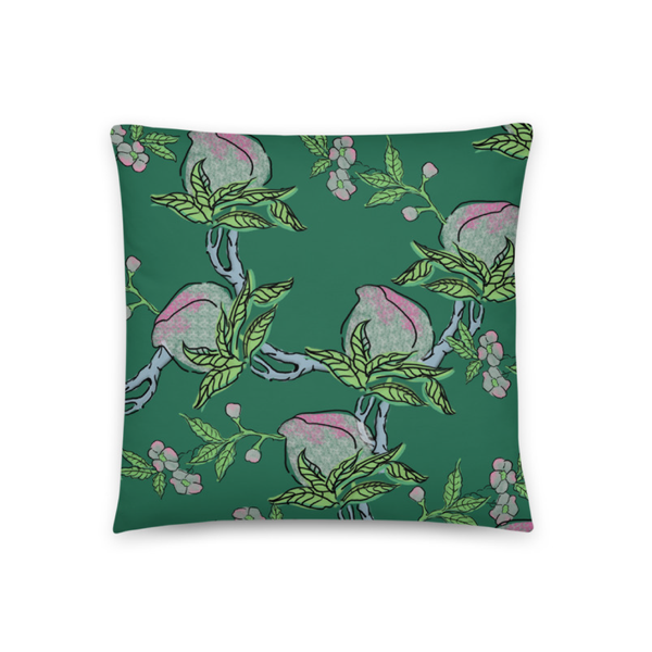 Wing on Wo & Co. x Made in Chinatown Peachy Pillow